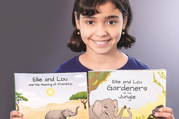 Conoce la historia de la pequeña Kiana, con tan solo 10 años ya tiene un best seller en Amazon.