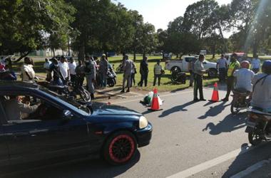 Camión atropella empleada de Casa de Campo en La Romana y se da a la fuga